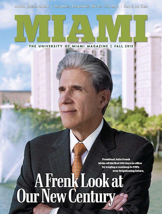 Fall 2015 Cover of Miami Magazine
