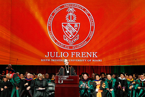 Presidential Inauguration of Julio Frenk
